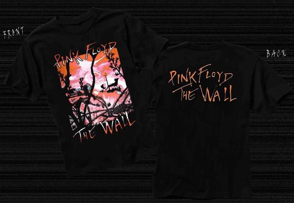 Pink Floyd The Wall 01 Mens Black Rock T-shirt NEW Sizes S-XXXL