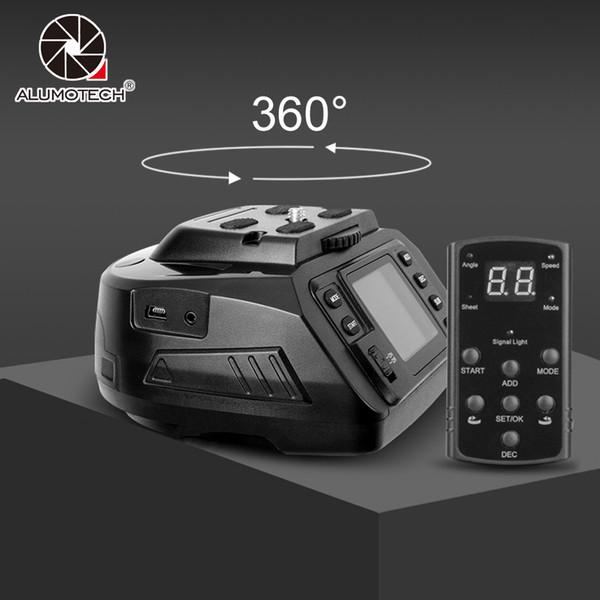 Alumotech 360 Grad Automatische Elektronische Panorama Pan Tilt Mount Für Nikon Canon DSLR Kamera Video Fotografie Ausrüstung
