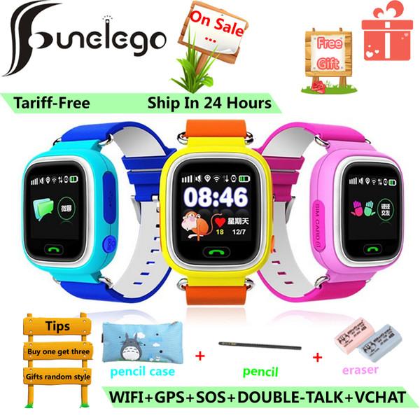 Compre Atacado GPS Q90 Telefone Relógio Para Crianças Color Touch Screen  WIFI Posicionamento Chamada SOS Inteligente Relógio Do Bebê PK Q528 Q50 Q80