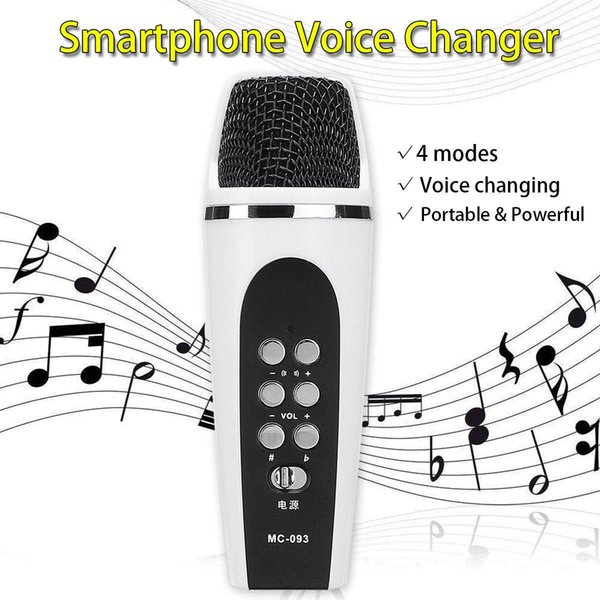 4 Mode Voice Changer Microphone For Iphone Apple Smartphone Cellphone  Android Smartphone Voice Changer Voice Pitch Changer Ghostface Voice  Changer