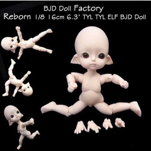 Stenzhorn Tiny Delf LUTS série TYLTYL assistente de orelha SD BJD 1/8 boneca