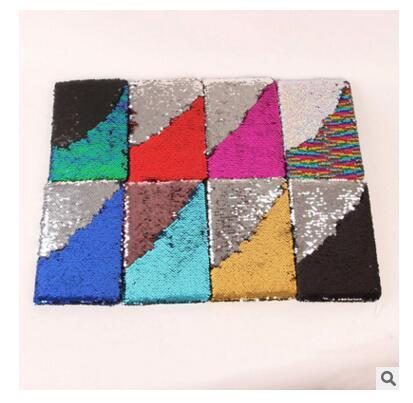 Sequin Mermaid Paper Memo Pads Portable Notepads Words Cards Kids Gift Stationery School Supplies 78 Sheets Notepads DHL Free Shipping