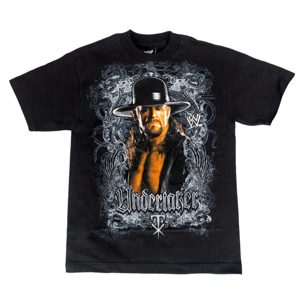 T Shirt Men Male Printed Custom Short Sleeve XXXL TV Show Camiseta Factory Outlet The Undertaker Image Black T-shirt Adult