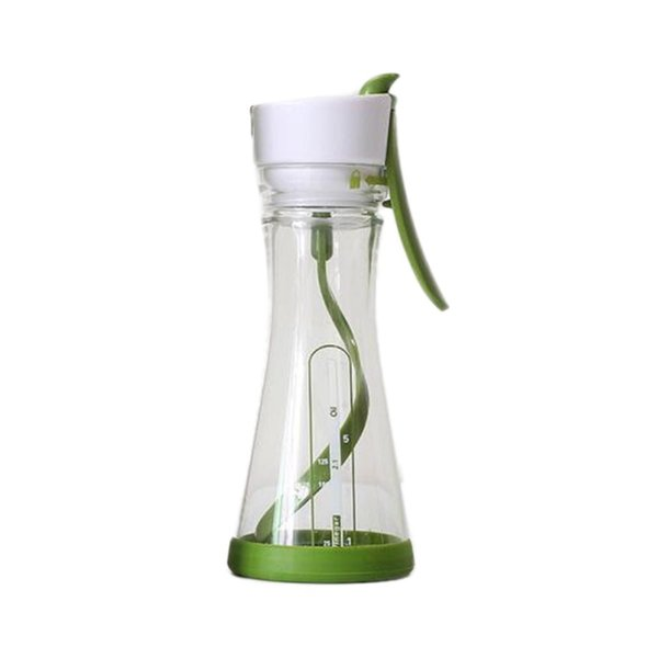 Multifunctional Coffee Maker Manual Stir Cup Plastic Juice Shaker Cup Spiral Mixing Cup Portable Kitchen Accessories
