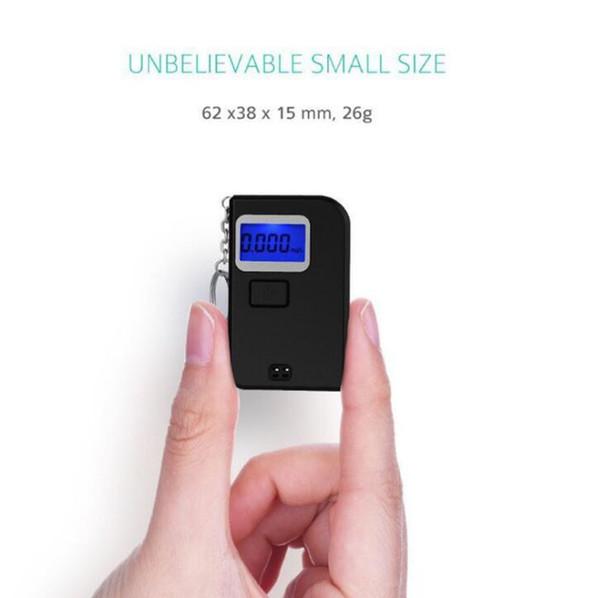 Portable Num/érique Testeur dalcool M/ètre Professionnel De Lalcool Contenu D/étecteur Haute Sensibilit/é Alcootest Inclus Affichage LCD Et Capteur Semi-Conducteur