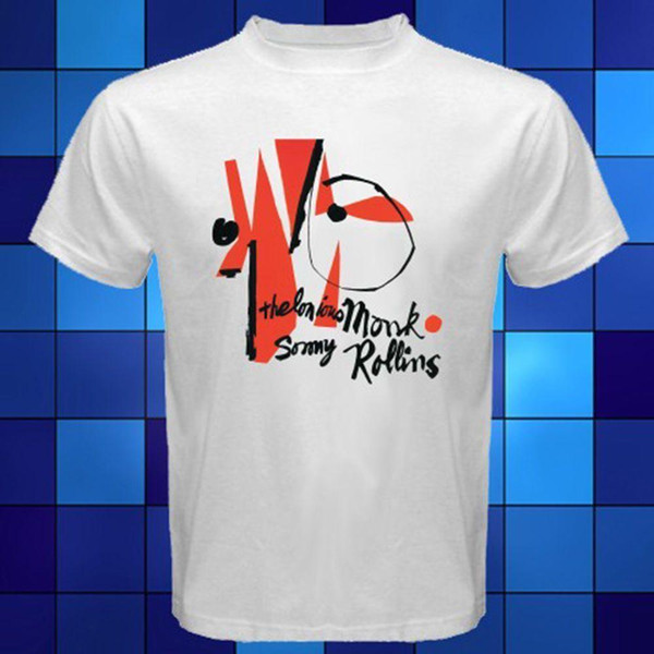 Thelonious Monk and Sonny Rollins Jazz Music T-Shirt