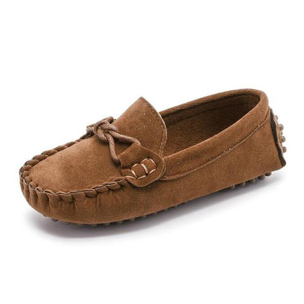 Größe 21-35 Baby Kleinkind Schuhe Frühling Sommer Kinder Weiche PU Leder Freizeitschuhe Jungen Müßiggänger Mädchen Mokassins Schuhe
