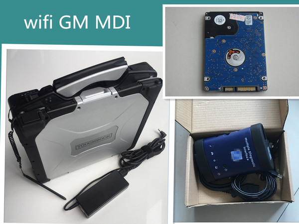 top popular 2018 MDI Diagnostic Scanner Tool with Soft-ware GDS2 TECH2 Installed in CF-30 laptop. Ready To Work 2019