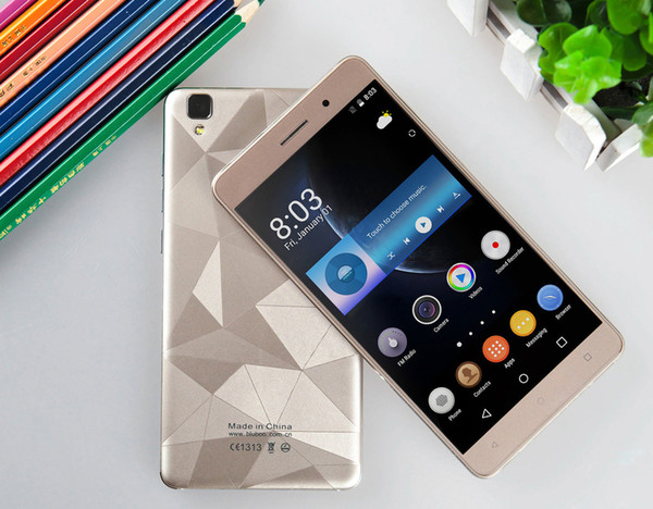 BLUBOO Maya Android 6.0 Smartphone 5.5 Inch HD 3G MT6580 Quad Core Mobile Phone 1.3GHz 2G+16G 13MP Rear Camera Cellphone 3000mAh