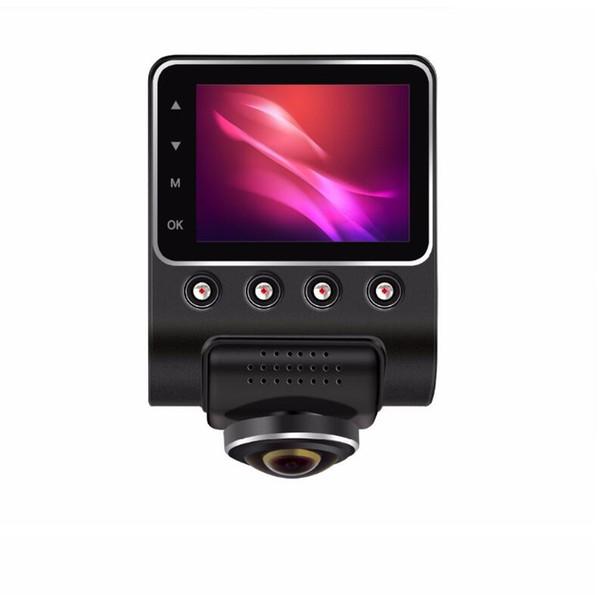 Nueva grabadora de conducción panorámica de 360 grados oculta HD visión nocturna Wi-Fi completa monitorización de aparcamiento DVR + 32GB tarjeta de memoria