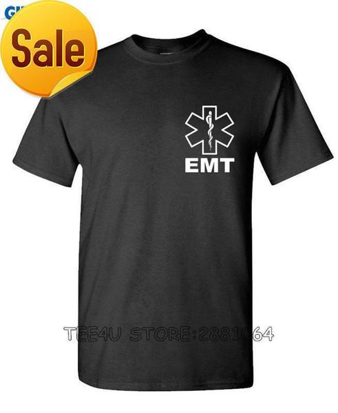 Tee4U Retro Shirts Zomer O-cuello de manga corta para hombre V2 Emt T Shirts