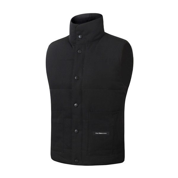 best selling 2019 Brand New Mens freestyle real feather down Winter Fashion vest bodywarmer Advanced Windstopper Waterproof Fabric