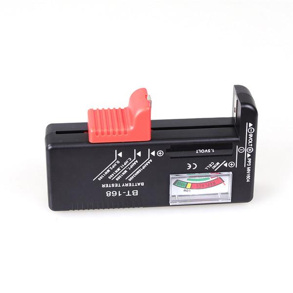 Baterías BT-168 AA / AAA / C / D / 9V / 1.5V Batería de botón universal Color codificado Indicador de Voltaje Comprobador de voltaje BT168