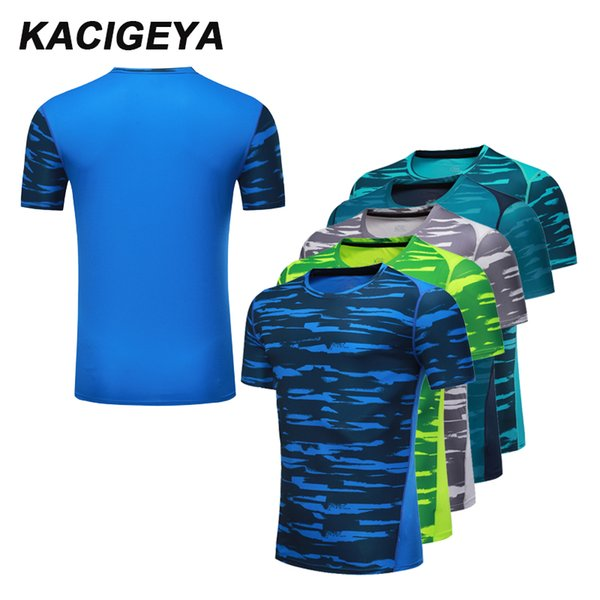 Compression Men T-shirt Print Sport Shirt Men Spandex Running Short Sleeve Dry Quick Gym Tight Fitting Bodybuilding Clothing