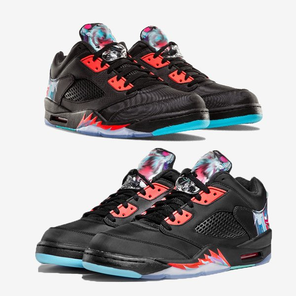 d6b3105ce72 Arrival 5 5s Low Chinese New Year Kite Basketball Shoes Men Women 5s CNY  Kite Sports
