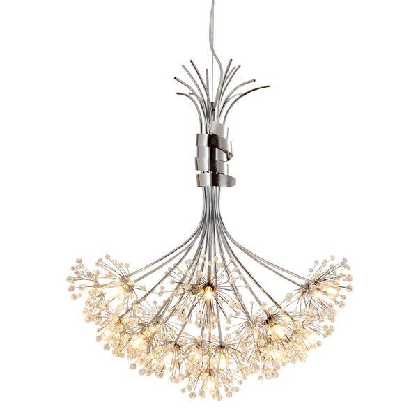 Hot Modern Crystal Chandelier G4 13bulb 19bulb LED Ceiling Pendant Lighting Lamp High Quality LED Light Chandelier