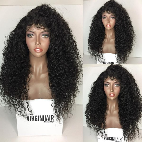 Lace Front Human Hair Wig Body Wave Virgin Malaysian Hair Wet And Wavy Lace Front Wigs Glueless Front Lace Wig For Black Women