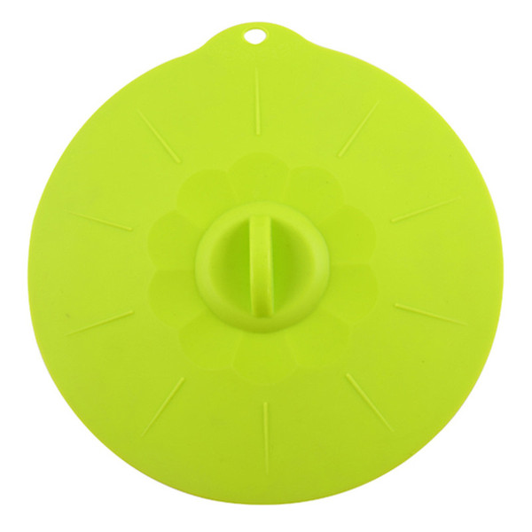 Silicone Fresh Bowl Lids Microwave Oven Heat Resistant Bowl Cover Reusable Suction Covers for Bowls Pots Cups