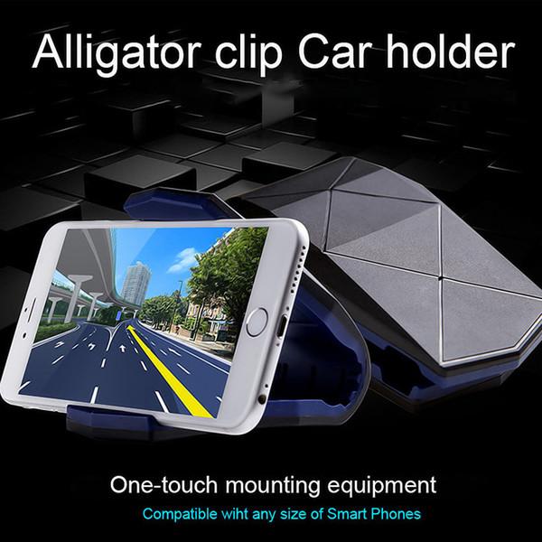 Evrensel Araç Montaj Dash Cep Cep Akıllı Telefon Tutucu Dock Cradle Standı Stealth Evrensel Cep Telefonu Araç Montaj Tutucu Standı