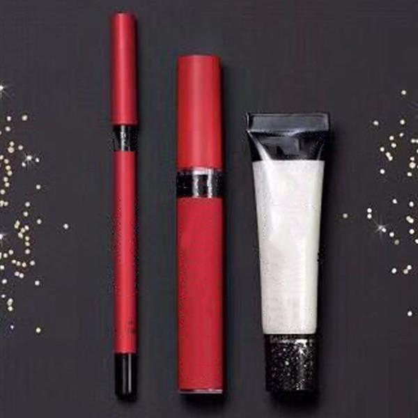 2018 Secret Velvet Matte Lip Pencil Shine Gloss Lip Kit 4 Different Colors Free Shipping top quality and DHL free
