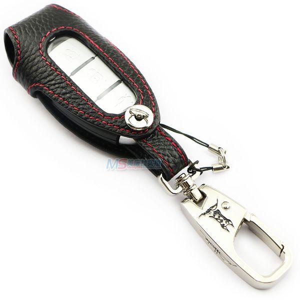 Genuine leather car key case for Nissan PATROL QASHQAI SYLPHY SUNNY TEANA X-Trail CrossCabriolet GT-R Premium Juke ADDAN car accessories