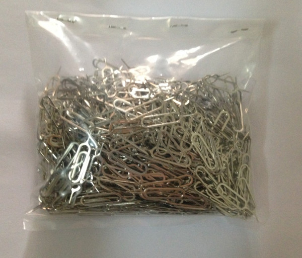 New Sim Card Needle For Apple iPhone iPad and other Cell Phones Tool Tray Holder Eject Pin metal