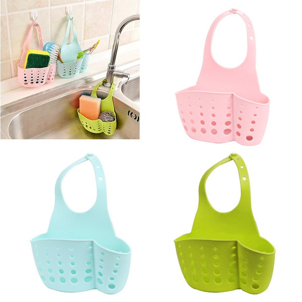Portable Home Kitchen Bathroom Sink Sponge Hanging PVC Estantería Rack Drain Faucet Storage Pail Shelves Herramientas Holder Hoga