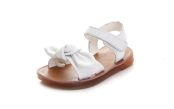 2018 new Korean version of the summer girls sandals in the big children students soft bottom slip open toe fashion children little princess