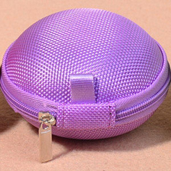 New High Quality Fashion Women Cute Mini Coin Bag Hand Pouch Purse Purple Kleidung & Accessoires