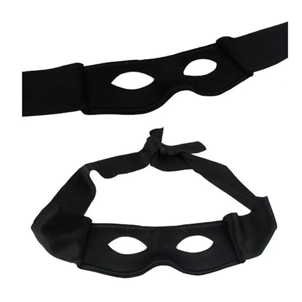 Nouvellement Rouge Noir Parti Masque Halloween Fournitures Adulte Hommes Femmes Villain Joke Bandit Zorro Masque Pour Les Yeux Thème Partie Masquerade Costume