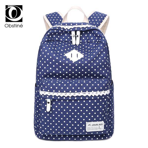 Canvas Backpack Large Capacity School Bags for Teenage Girls Cute Printing Backpacks Women 14 Inch Laptop Back Pack Bag Female