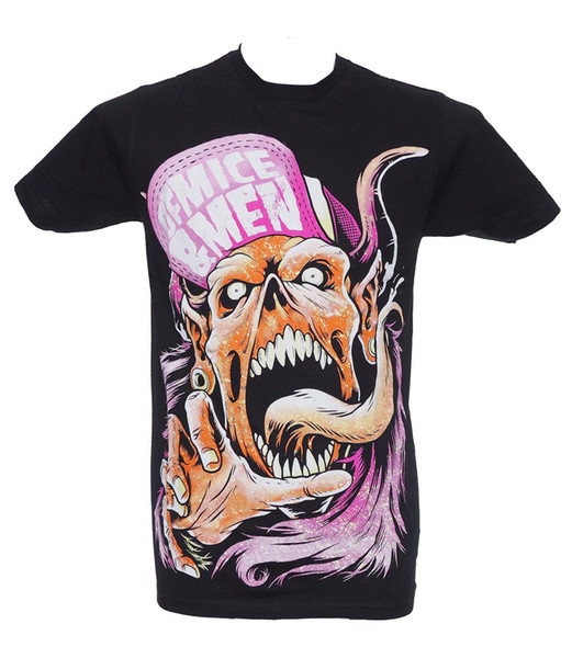 OF MICE & MEN - FLIP HAT DEMON - Official Licensed T-Shirt - New M L XL Men T-Shirt Men Clothing Plus Size top tee
