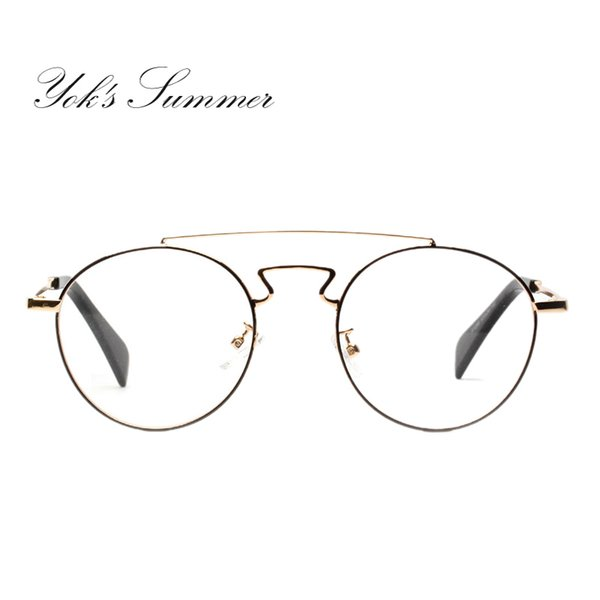 8085f06468 Gafas retro redondas de Yok's Marco Mujer Hombre Miopía Gafas graduadas  Gafas graduadas Diseñador de la