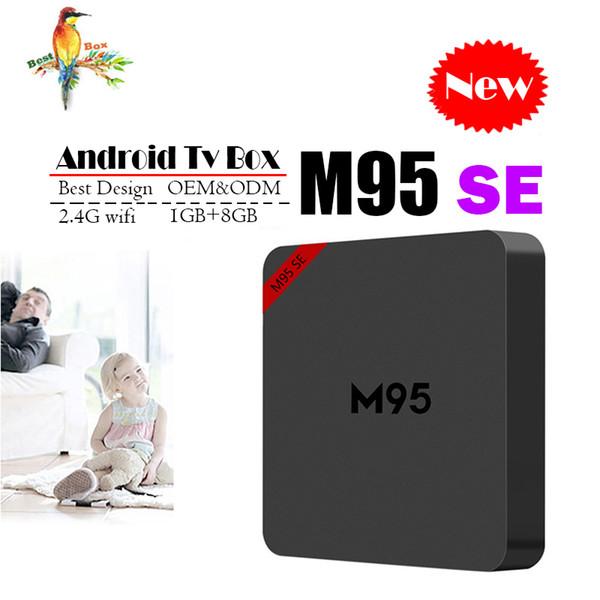 Best M95 SE Allwinner H3 1G 8G Android 7.1 TV BOX Quad Core Ultra HD H.265 4K Stream Media Player Better Amlogic S905W X96 mini S912 TX3