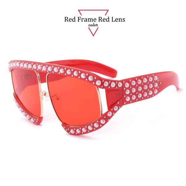 Red Frame lentille rouge