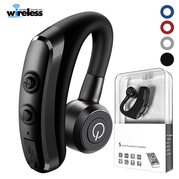 k5 wireless Bluetooth headphones Business Stereo wireless earbuds Earphones With Mic package for iphone samsung smartphones