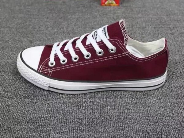 Men's and women's casual shoes with high quality European and American popular fashionable canvas shoes with flat sole selling 2018 best-sel