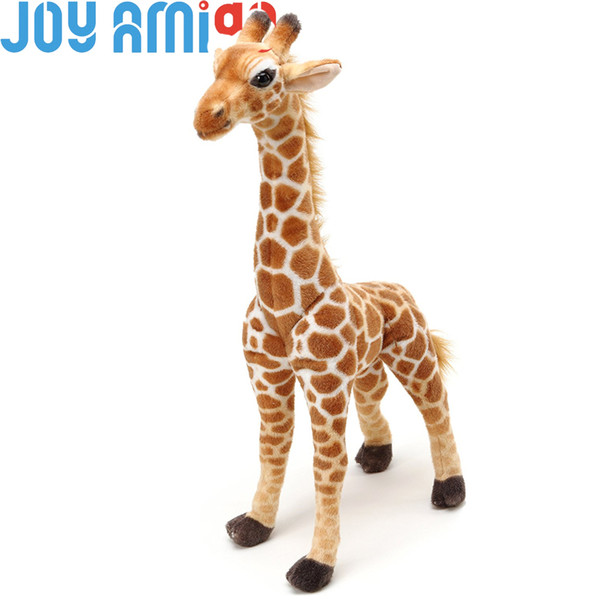 Jocelyn the Giraffe | Cute Yellow Giraffe Stuffed Animal Large Plush lifelike Realistic Soft Toy l Gift