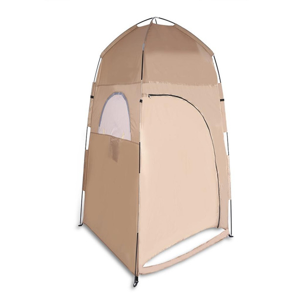 Camping Hiking Backpacking Shower Toilet Changing Shelter Privacy Room Portable Privacy Toilet Tent Shower Shelter Beach Fishing Tent