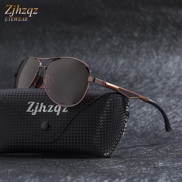 Hot marques luxe aluminium magnésium lunettes de soleil polarisées hommes  conception conduite lunettes de soleil femmes 3c4146d1c68d