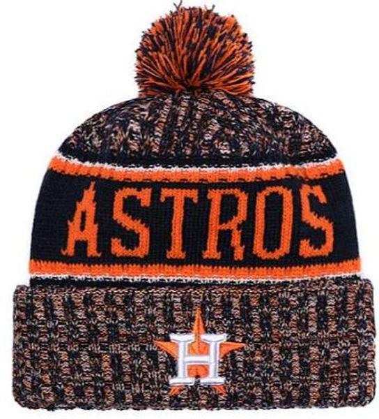 2019 Invierno Astros Beanie beanies Sombreros de calavera para hombres  mujeres Gorro de lana de punto Hombre Hombre Gorro de punto gorros Cálido  gorra de ... 96b4204a7c4
