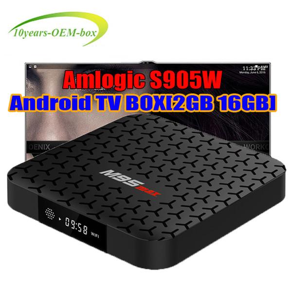 Hot M9S MAX Smart TV Box Android 7.1 Streaming Media Player Amlogic S905W Quad Core 2GB 16GB Wifi Mini PC 4K Miracast DLNA NTSC