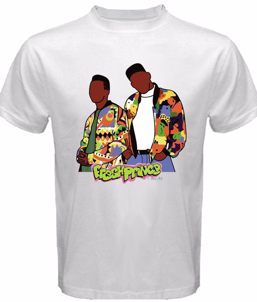 FRESH PRINCE OF BEL-AIR WILL SMITH SHOW T-SHIRT New Men's Tee Size S to 3XL Funny O-Neck T-Shirt Allen Iverson Jersey