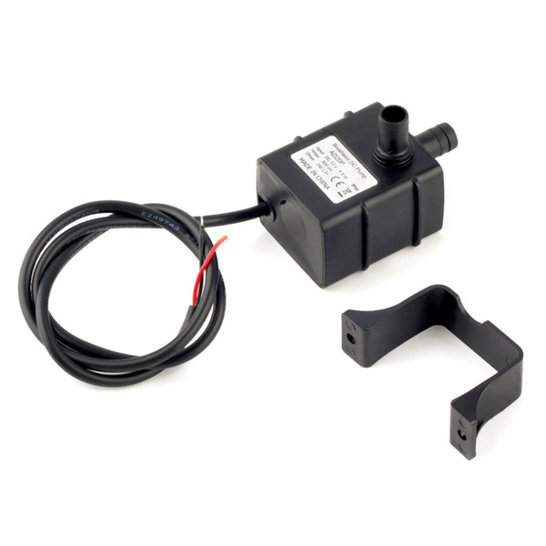 DC12V 240L/H Brushless permanent magnetic rotor 2 phase submersible Water Pump Garden Pond Fountain aquarium spray Water cycle