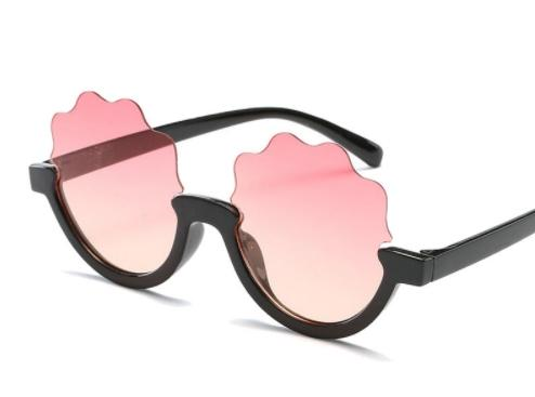 Fshion Round Cute Sunglasses Brand Child Sunglasses Anti-uv Baby Vintage Glasses Girl Eyeglasses Boys Kids Oculos 6156