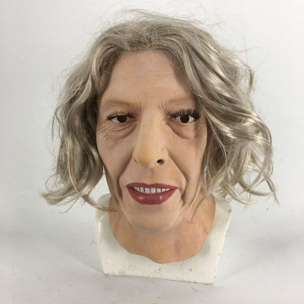 2018 New Fashion Beautiful Charming Girl Female Human Latex Mask For Halloween Costumes Party Cosplay Decoration