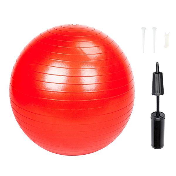 Yoga Balls Thickening Explosion Proof PVC Bodybuilding Balance Ball 65cm 1050g Gym Household Explosion-proof Thicken Yoga Ball Smooth