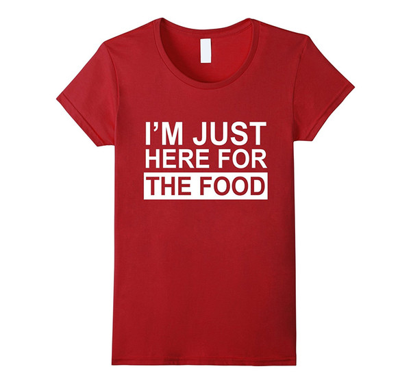 Maglietta I'm For Donna Da The Food Acquista Just Here GSMLqUzVp
