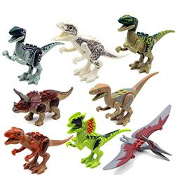 8pcs / set Durosaurs Jurassic World