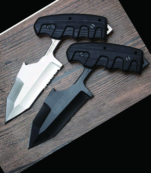wholesale 21CM Large Multi-function push knife Karambit adjustable push knife lock back pocket Folding knife cutting tool 1PCS freeshipping